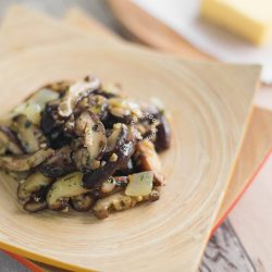 Butter Shiitake Mushroom Recipe