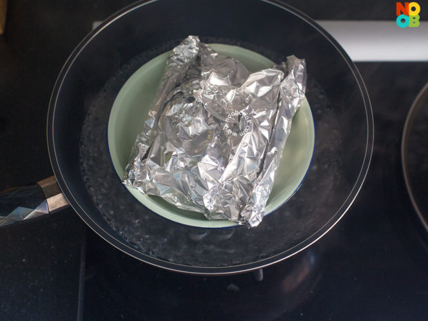 Steamed Chicken Foil Packet Recipe