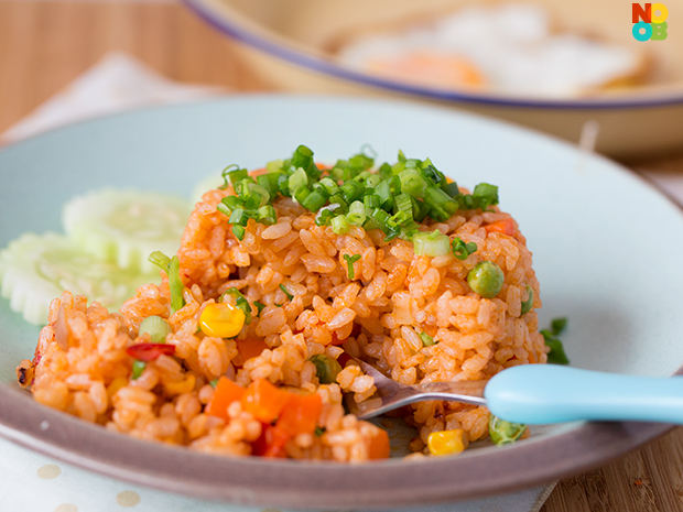 Tomato Ketchup Rice Recipe