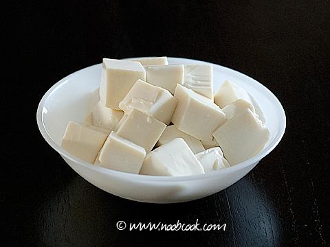 Salted Vegetables & Tofu Soup 咸菜豆腐汤