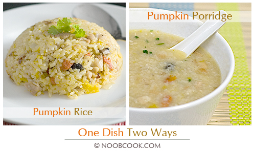 Pumpkin Rice & Porridge