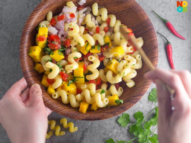 Mango Salsa Pasta Recipe