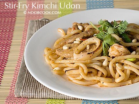 Stir-Fry Udon