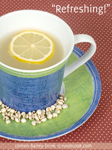 Lemon Barley Drink