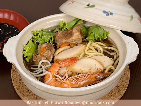 Bak Kut Teh Prawn Noodles