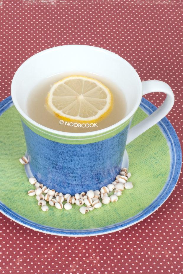 Lemon Barley Drink Recipe