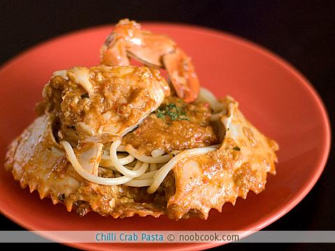 Chilli Crab Pasta