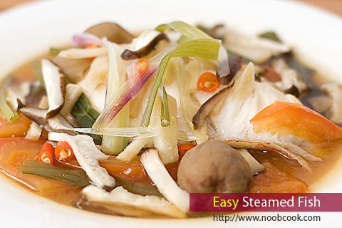 Easy Steamed Fish