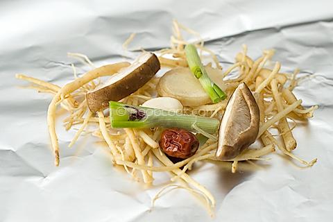 Ginseng Chicken Foil Packet Recipe