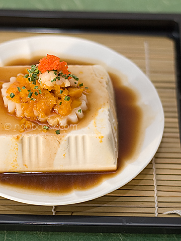 Steamed Tofu with Pumpkin