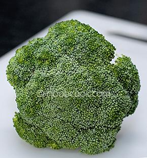 Stir fry broccoli with Hoisin Sauce
