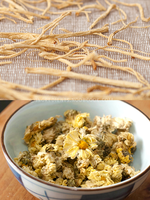 Ginseng & Chrysanthemum Flowers