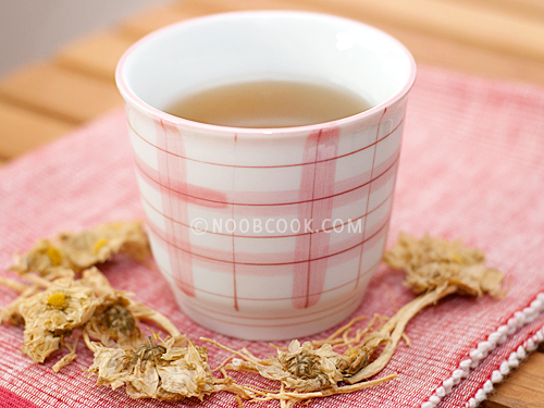 Ginseng Chrysanthemum Tea