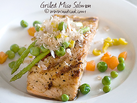 Grilled Miso Salmon