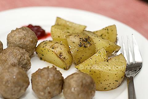Microwaved Potatoes