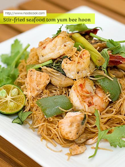 Fried Tom Yum Bee Hoon