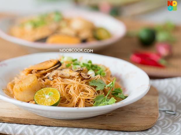 Tom Yum Bee Hoon Recipe