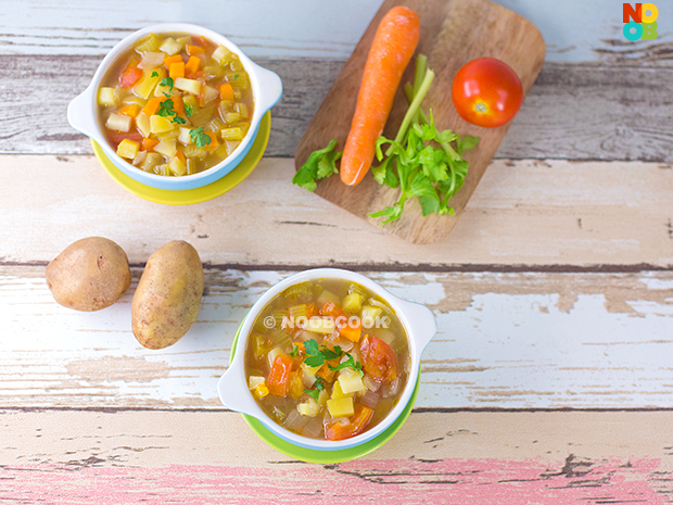 Chinese Minestrone Soup Recipe