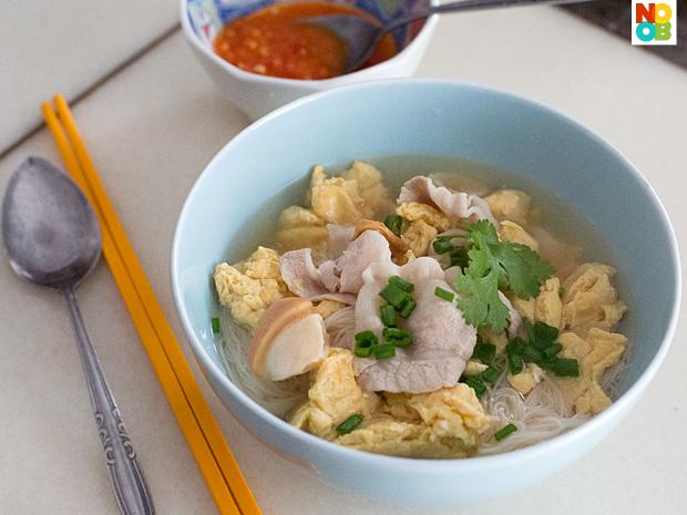 Mum's Egg Mee Sua Recipe