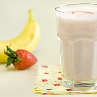 Strawberry & Banana Smoothie