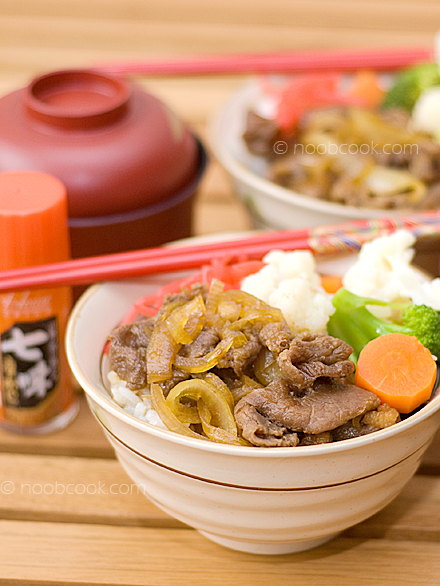 Delicious Gyudon (Beef on Rice)