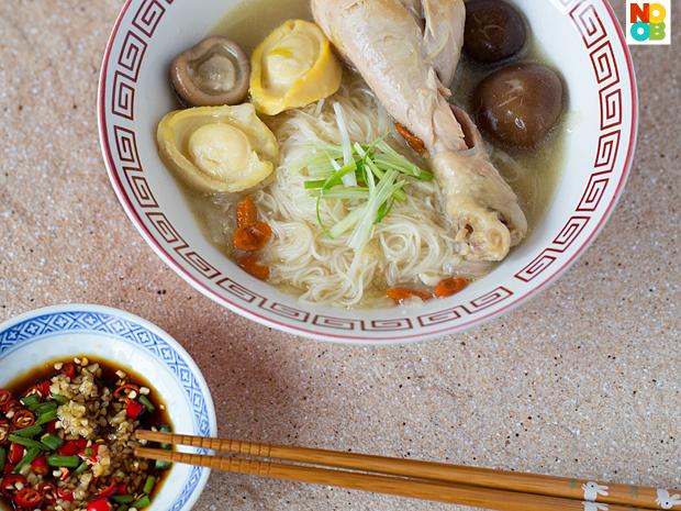 Birthday Mee Sua (Longevity Noodles) Recipe