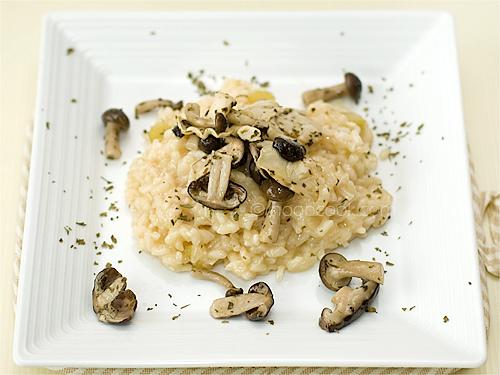 Mushroom Lover's Risotto