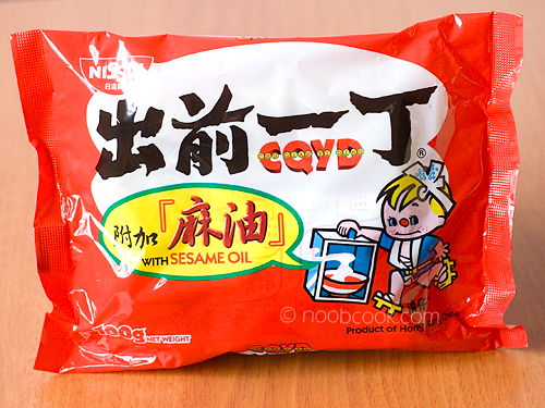 Nissin chu qian yi ding instant noodles 出前一丁