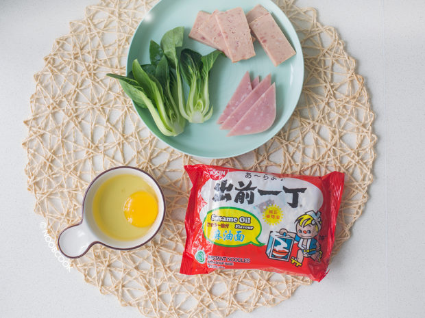 Hong Kong Style Instant Noodles Recipe (Ingredients)