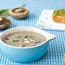 Cream of Portobello Mushroom Soup