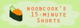 NoobCook's 15 min shorts logo