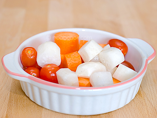 Carrot, Radish, Tomato Juice