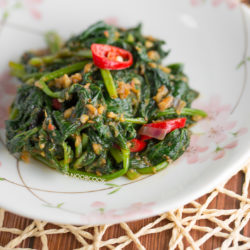 Sambal Sweet Potato Leaf Recipe