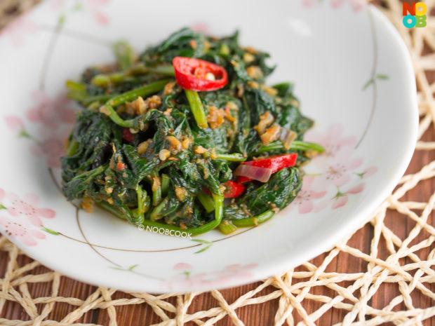 Sambal Sweet Potato Leaf Recipe