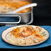 Sausage Baked Rice