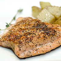 Quickie Grilled Salmon