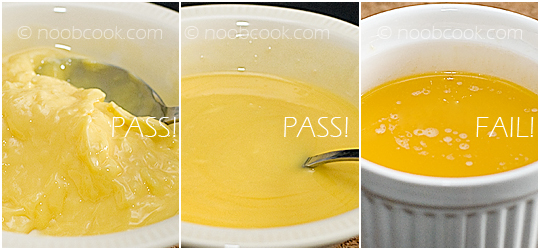 How to melt butter using microwave