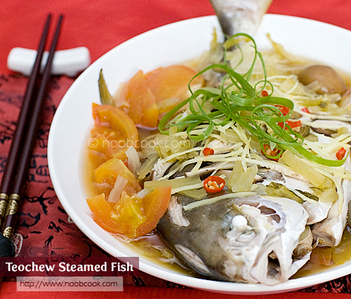 Teochew Steamed Fish