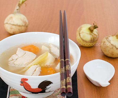 Arrowhead and Huai Shan Soup