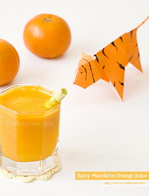 Spicy Mandarin Orange Juice