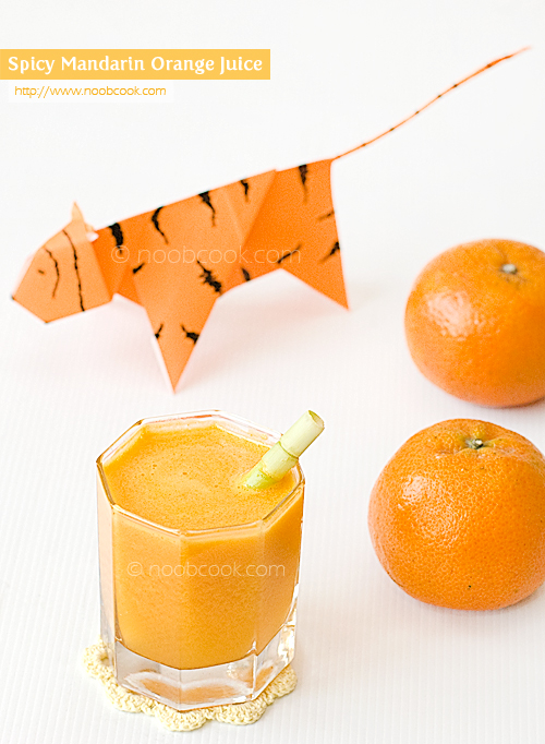 Spicy Mandarin Orange Juice