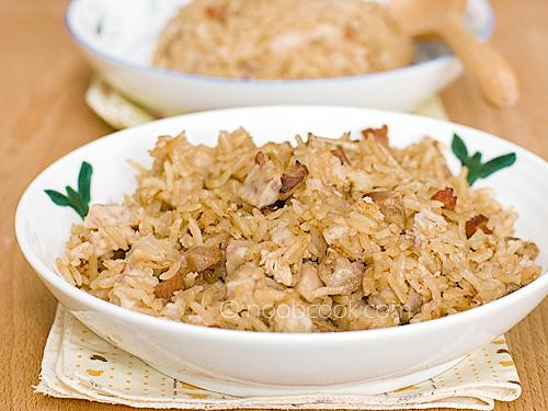 Yam Rice 芋头饭