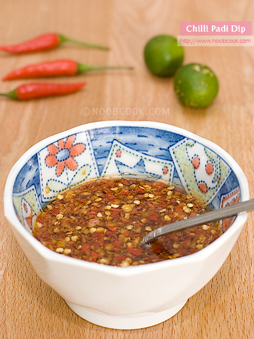 Hot Chilli Padi Dip Recipe
