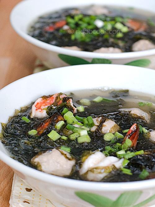 Seaweed Soup 紫菜汤