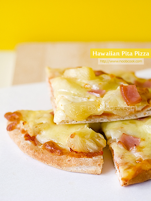 Hawaiian Pita Pizza