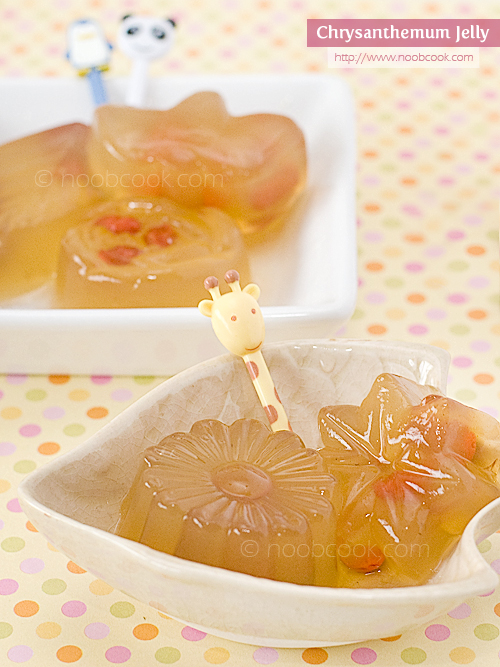 Chrysanthemum Tea Jelly
