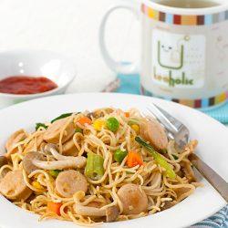 Stir-fried Egg Noodles