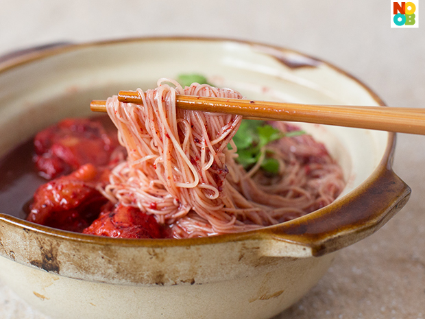 Foochow Red Wine Mee Sua Recipe