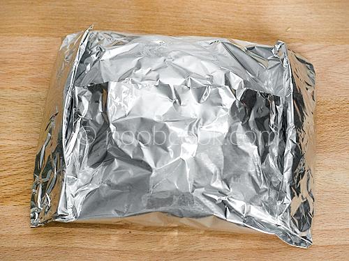 Salmon Pesto Foil Packet Recipe