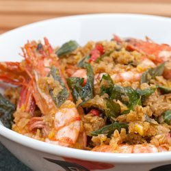 Cheater's Cereal Prawn Recipe